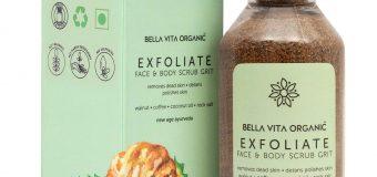 Review: Bella Vita Organic Exfoliate Coffee Scrub For Face & Body Skin Brightening