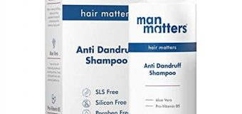 Review Of Man Matters Advanced Anti Dandruff Shampoo For Men