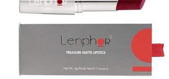 Review: Lenphor Treasure Matte Lipstick (Exotic Wine)